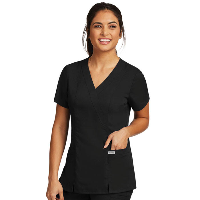 Greys-Anatomy-41101-2-Pocket-Crossover-Scrub-Top