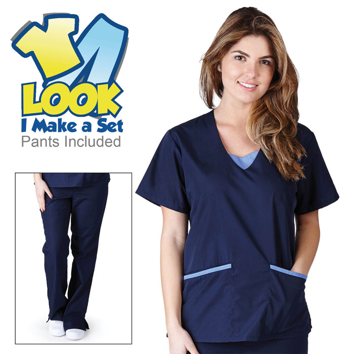 Natural-Uniforms-1077-Contrast-Jersey-Scrub-Set