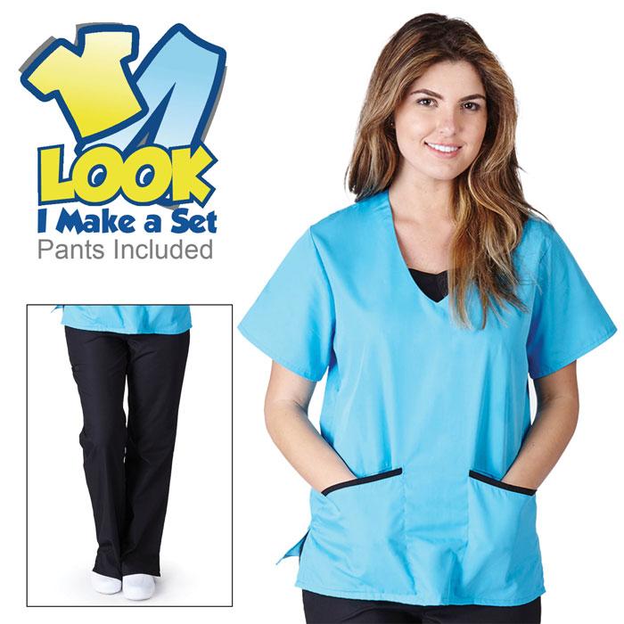 Natural-Uniforms-1077-Contrast-Jersey-Scrub-Set