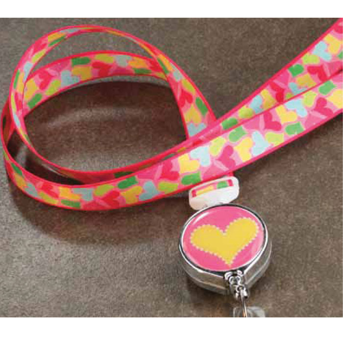 140009B-14009B-ID-Necklace-BooJee-Ribbon-Lanyard-Fun-Hearts