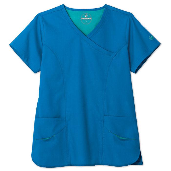 F3-Fundamentals-14371-Smiley-Pocket-Scrub-Top