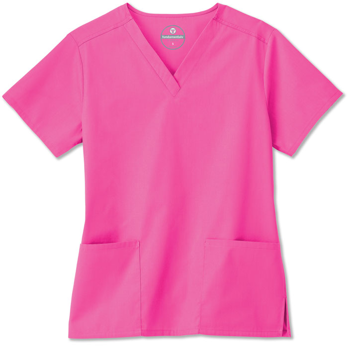 F3-Fundamentals-14700-Ladies-2-Pocket-V-Neck