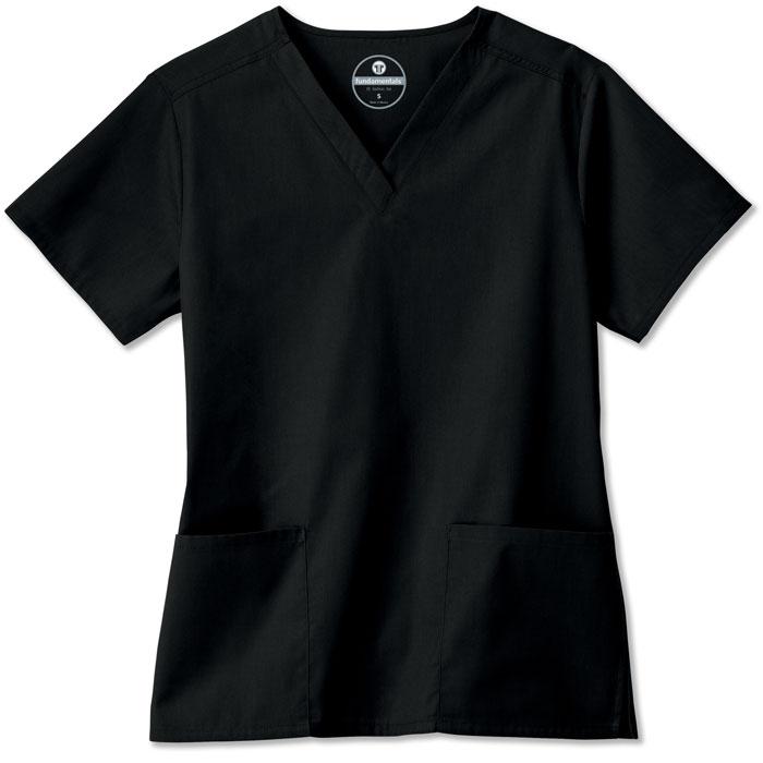 F3-Fundamentals-14700-Ladies-2-Pocket-V-Neck