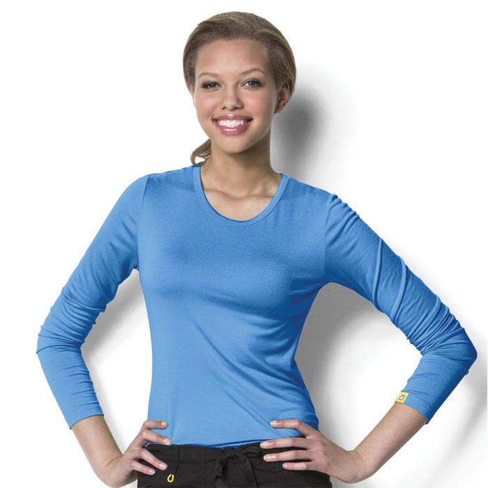 WonderWink-Layers-2009-Ladies-Silky-Long-Sleeved-Tee
