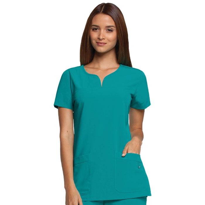 Greys-Anatomy-2121-Signature-Notch-Neck-Scrub-Top