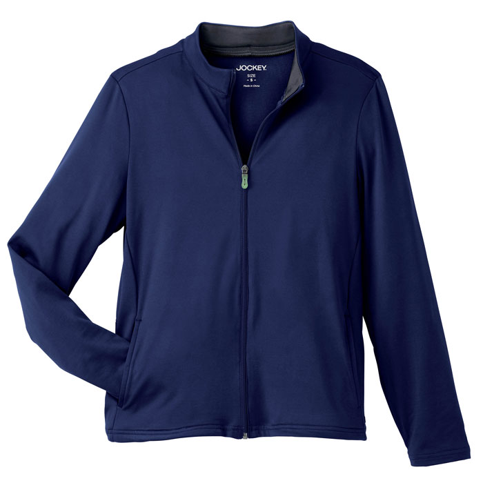 Jockey-2399-Ladies-Tech-Fleece-Jacket-with-Zippered-Front