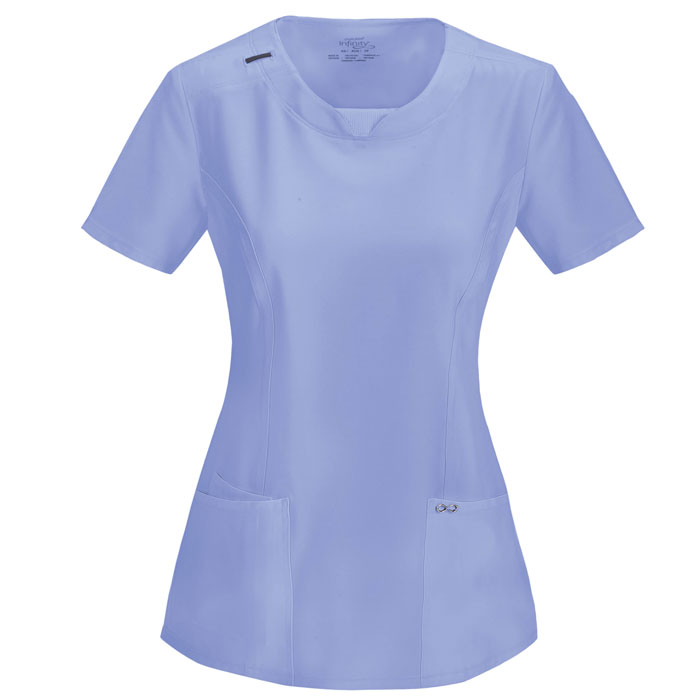 Infinity-by-Cherokee-2624A-Round-Neck-Scrub-Top