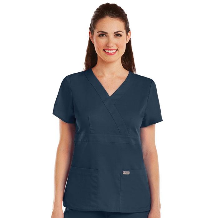 c1016e59593 Greys-Anatomy-4153-Womens-3-Pkt-Mock-Wrap-