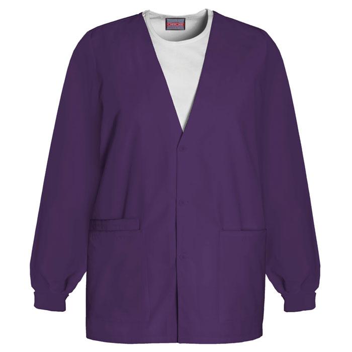 Cherokee-Workwear--4301-Cardigan-Warm-Up-Jacket