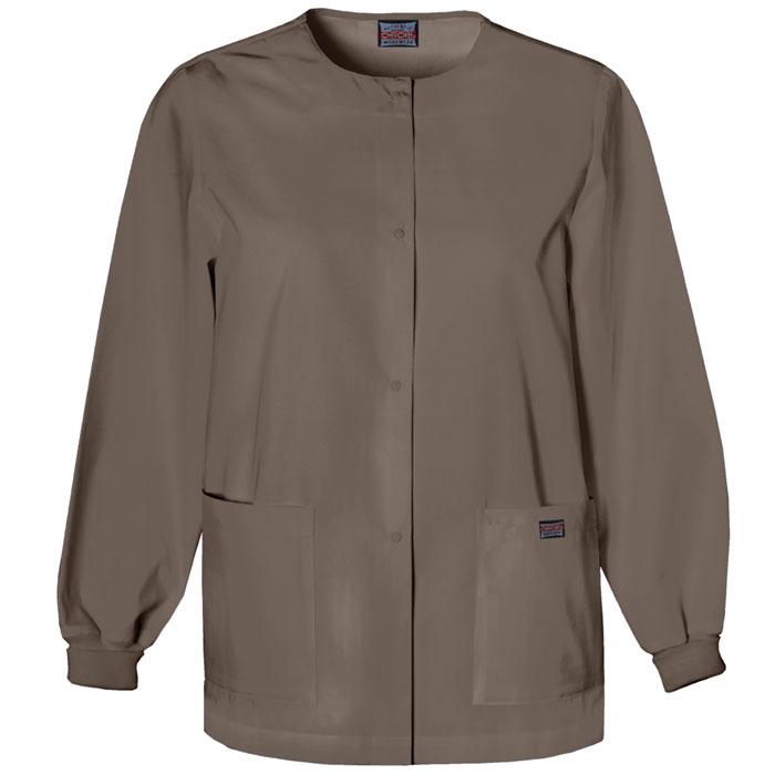 Cherokee-Workwear-4350-Snap-Front-Warm-Up-Jacket