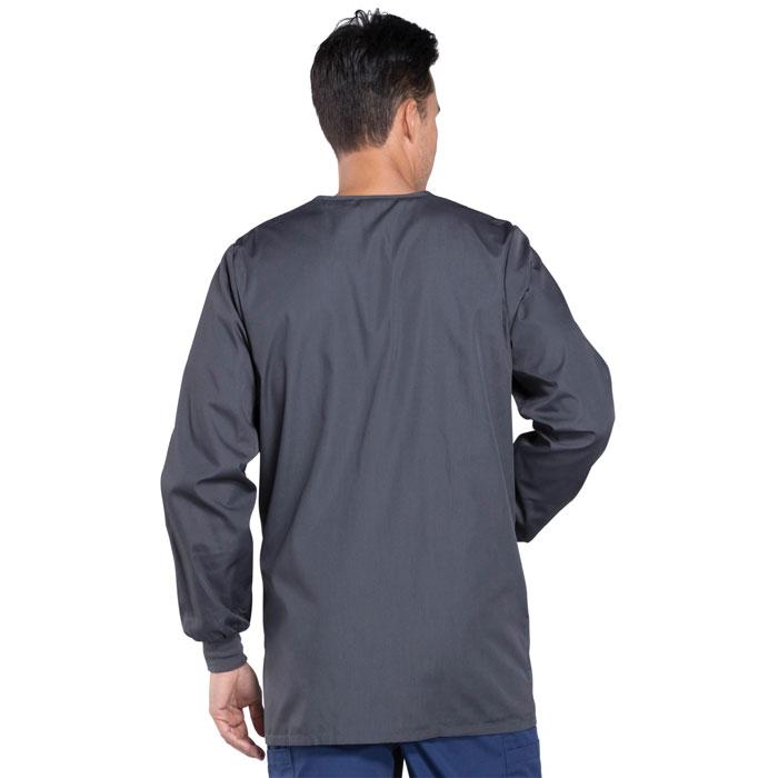 349184ec9c1 Cherokee Workwear, 4450, Mens Snap Front Warm-Up Jacket. Complete the look