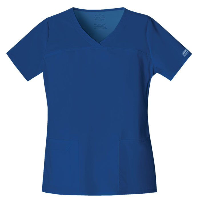 Cherokee-Core-Stretch-4727-V-Neck-Scrub-Top