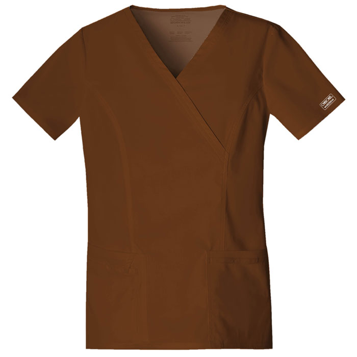 Cherokee-Core-Stretch-4728-Mock-Wrap-Scrub-Top