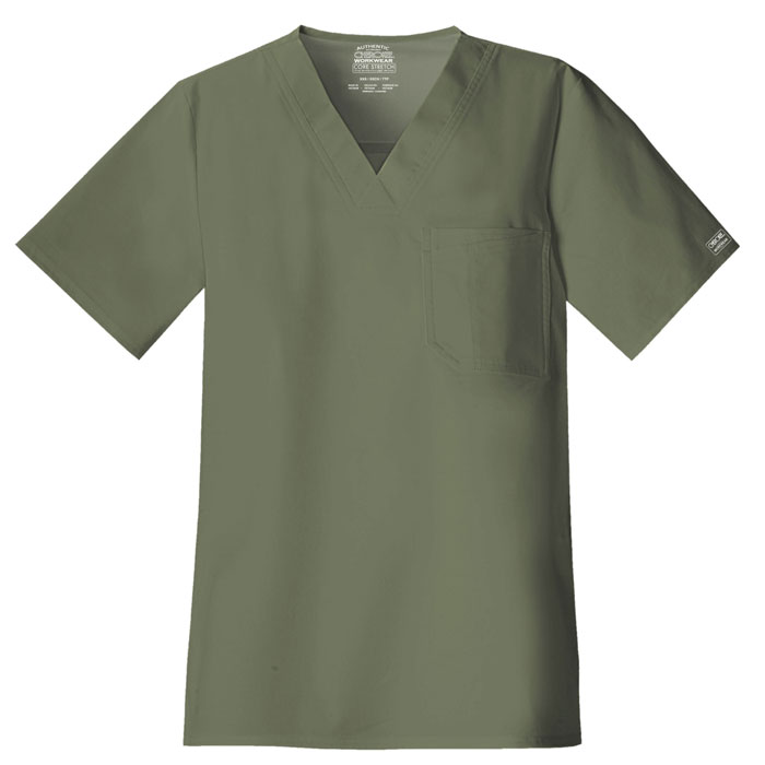 Cherokee-Core-Stretch-4743-Mens-V-Neck-Scrub-Top