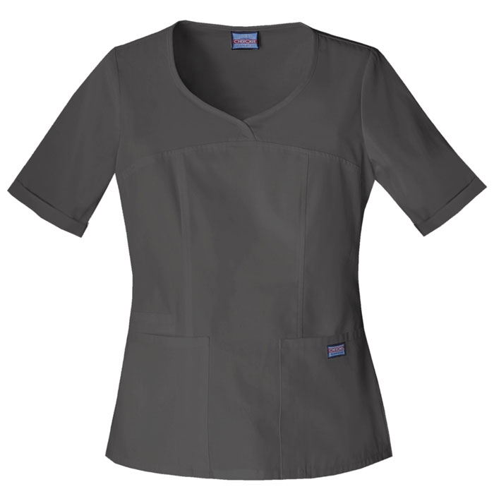 Cherokee-Workwear-4746-V-Neck-Scrub-Top