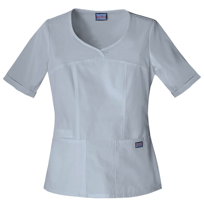 Cherokee-Workwear-4746-V-Neck-Scrub-Top