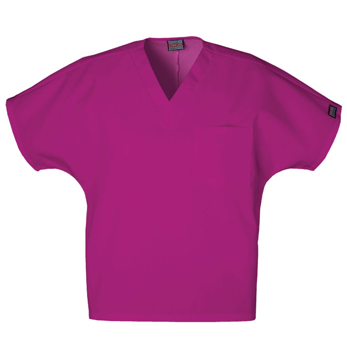 Cherokee-Workwear--4777-Unisex-V-Neck-Tunic-Scrub-Top