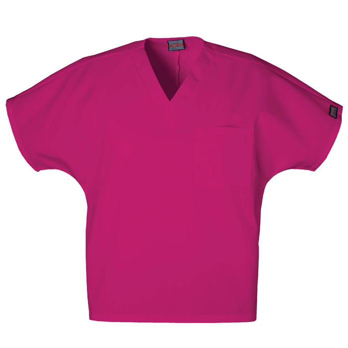 Cherokee-Workwear--4777-Unisex-V-Neck-Tunic-Scrub-Top