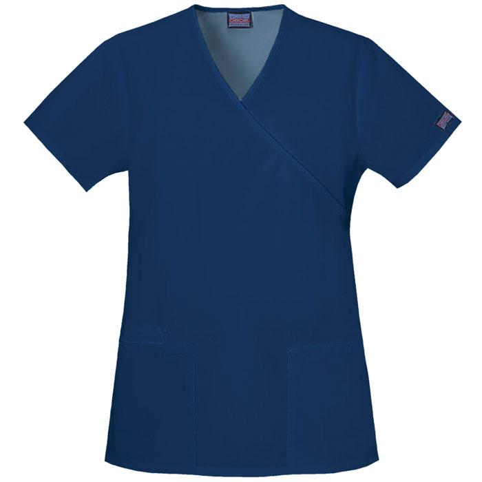 Cherokee-Workwear--4801-Mock-Wrap-Tunic-Scrub-Top