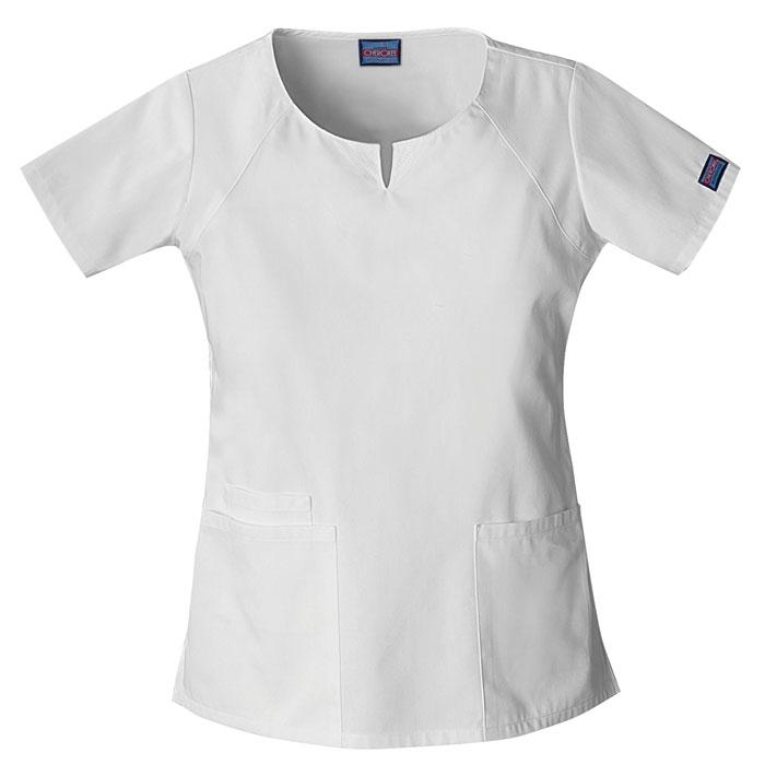 Cherokee-Workwear-4824-Round-Neck-Scrub-Top