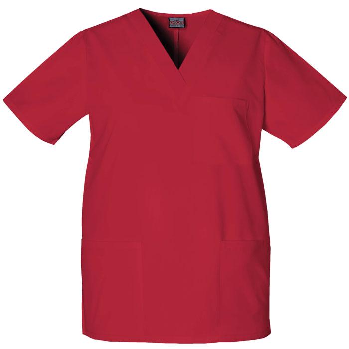 Cherokee-Workwear--4876-Unisex-V-Neck-Top