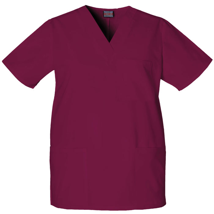 Cherokee-Workwear--4876-Unisex-V-Neck-Top