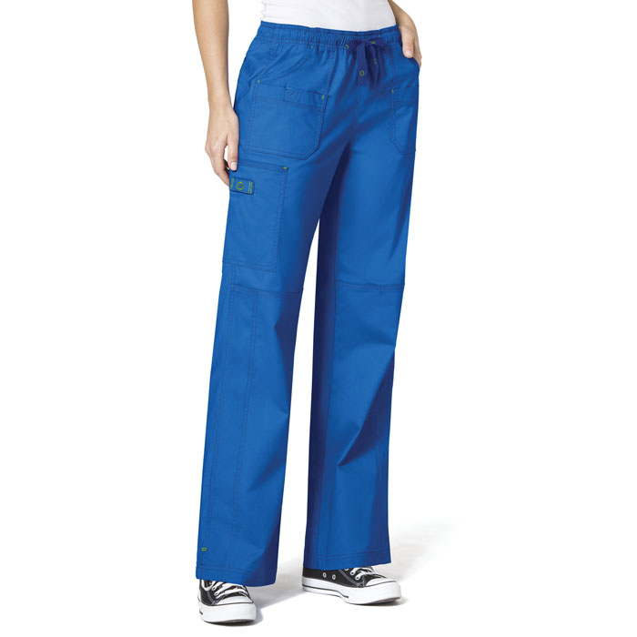 WonderFLEX-5108-Faith-Multi-Pocket-Cargo-Scrub-Pant