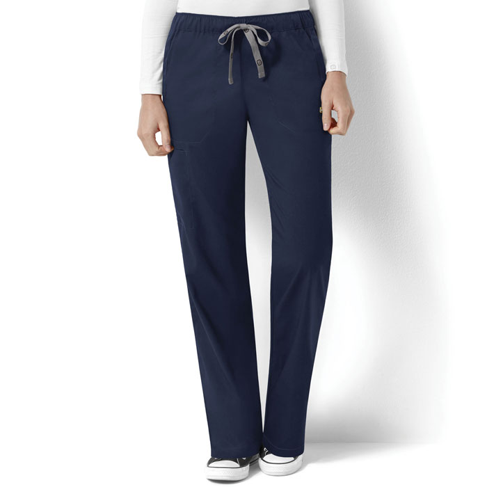 5645ebeacfe WonderWink-Next-5119-Logan-Drawstring-Straight-Leg-Scrub-. Black; Ceil Blue;  Caribbean ...