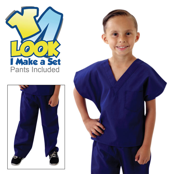 Natural-Uniforms-516-Childrens-Scrub-Set