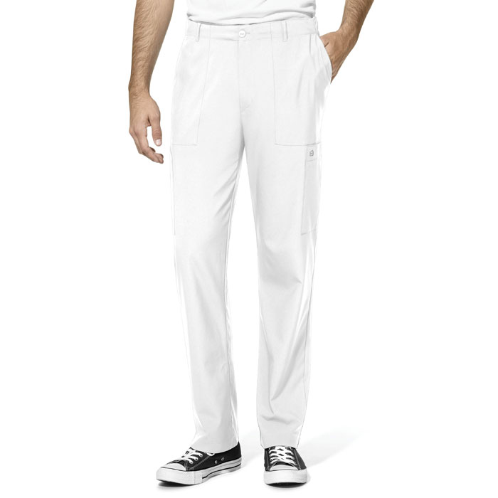 W123-5355-Mens-Flat-Front-Cargo-Pocket-Pant