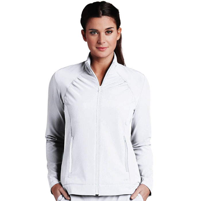 Barco-One-5405-Womens-2-Pkt-Crew-Neck-Jacket
