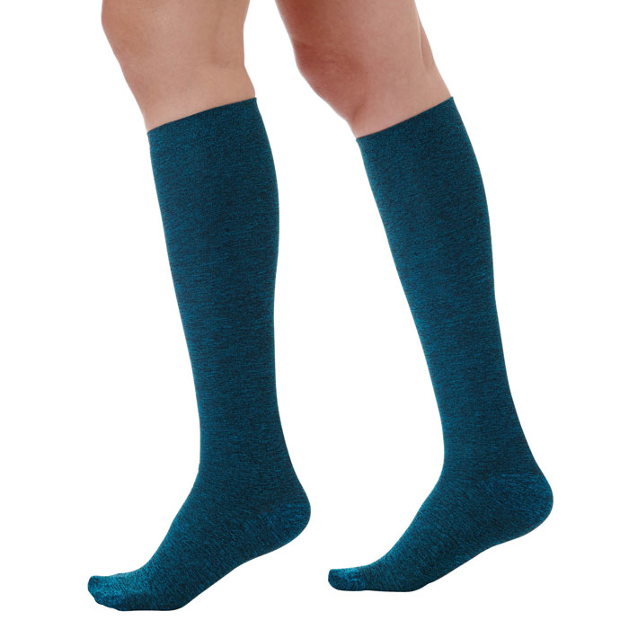A.M.P.S.-556-Space-Dyed-Graduated-Compression-Knee-High-Stockings