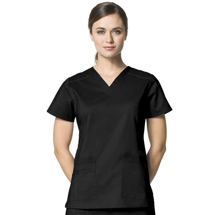 WonderFLEX-6108-Verity-V-Neck-Scrub-Top
