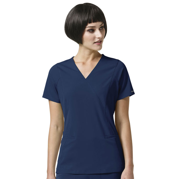 WonderWink-HP-6312-Axis-Mock-Wrap-Scrub-Top-