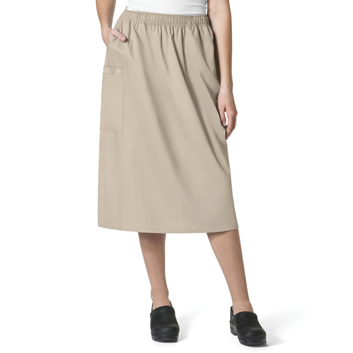 WonderWink-WonderWORK-701-Women's-Pull-On-Cargo-Skirt