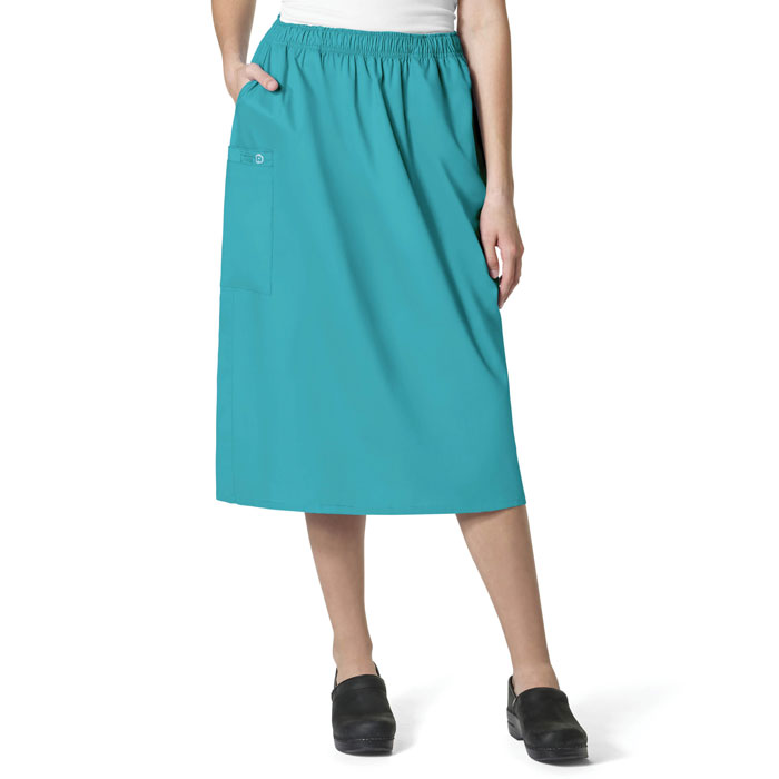 WonderWink-WonderWORK-701-Women's-Pull-On-Cargo-Skirt