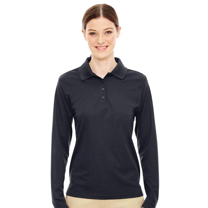 Ash-City---Core-365-78192-Ladies-Pinnacle-Performance-Long-Sleeve-Piqué-Polo
