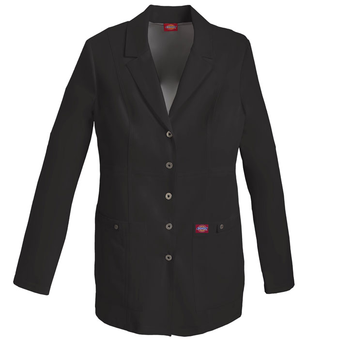 Dickies-Xtreme-Stretch-82400-Snap-Front-Lab-Coat