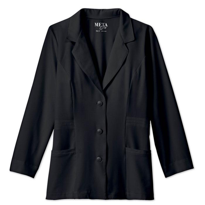 Meta-Pro-824-Ladies-Consultation-Tri-Blend-Stretch-Labcoat