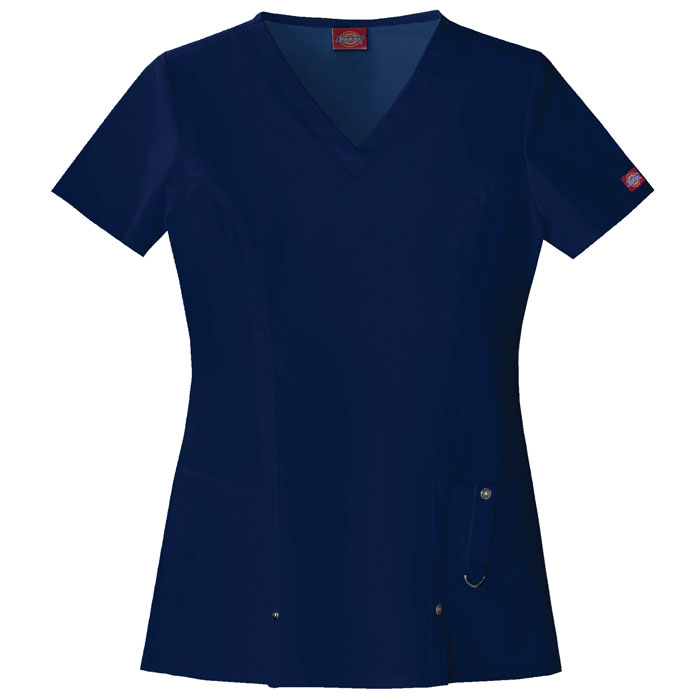 Dickies-Xtreme-Stretch-82851-V-Neck-Top