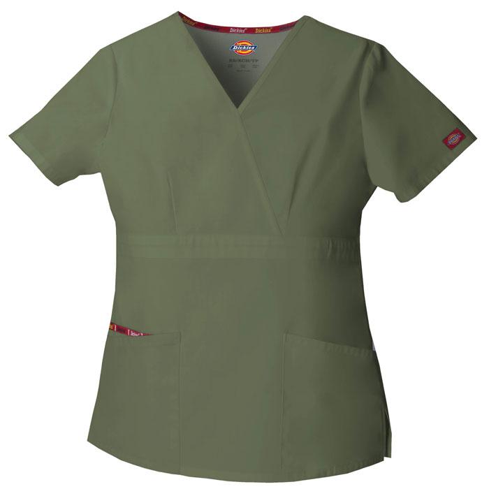 Dickies-EDS-Signature-86806-Mock-Wrap-Top