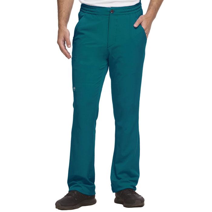 HH-Works-9590-Ryan-5-Pkt-Slim-Elastic-Waist-Mens-Scrub-Pant