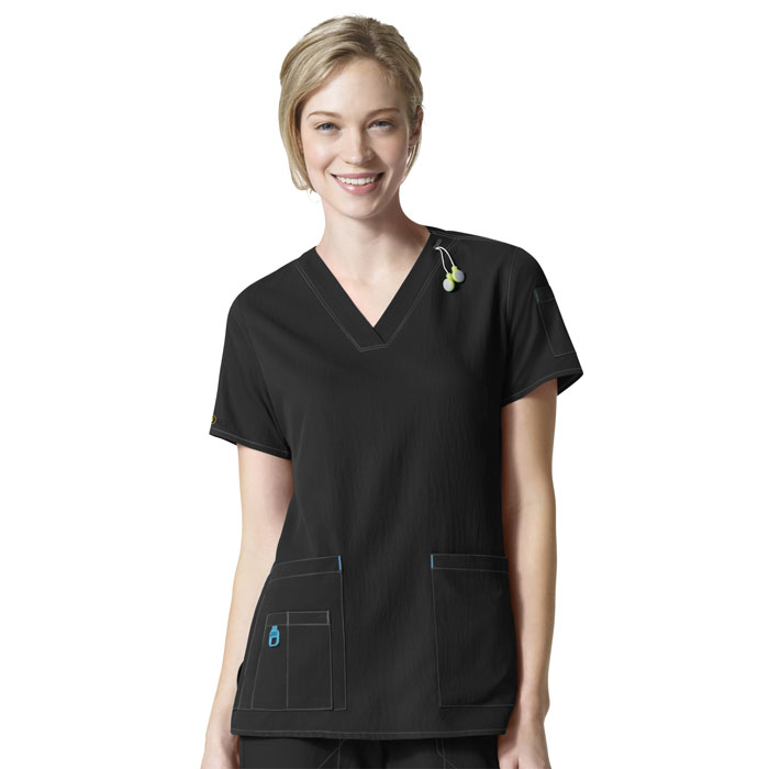 Carhartt-C12110-Womens-V-Neck-Media-Scrub-Top