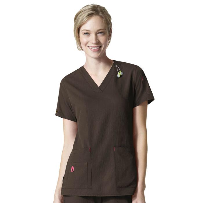 Carhartt-C12110-Womens-V-Neck-Media-Scrub-Top