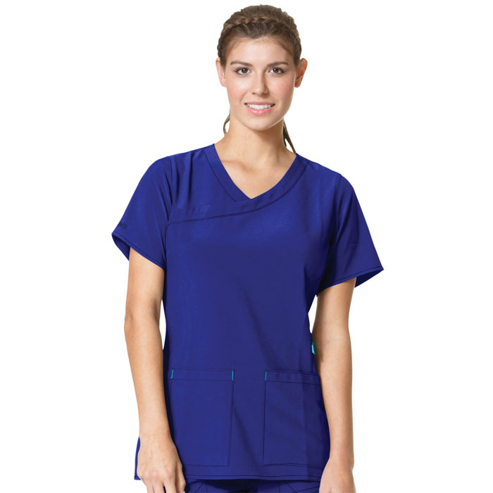 Carhartt-C12210-Womens-Y-Neck-Fashion-Scrub-Top