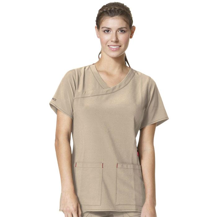 Carhartt-C12210-Womens-Y-Neck-Fashion-Scrub-Top