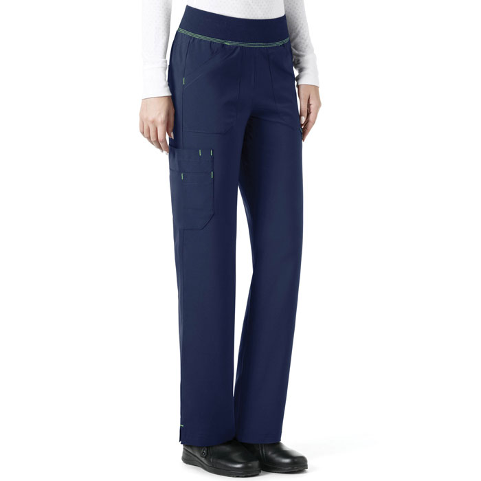 Carhartt, Cross-Flex, C52310, Women's Knit Waist Straight Leg Cargo Pant