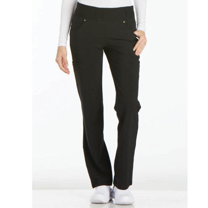 Cherokee-iFlex-CK002-Mid-Rise-Straight-Leg-Pull-On-Pant