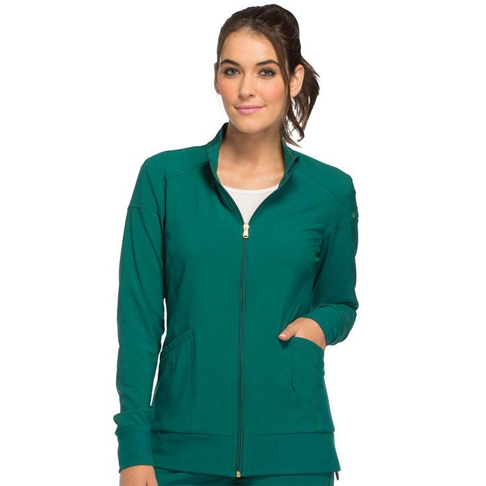 Cherokee-iFlex-CK303-Women's-Zip-Front-Warm-Up-Jacket
