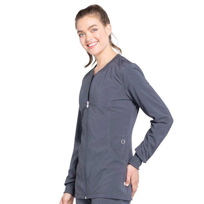 24c7ea60674c8 ... Zip Front Warm-Up Jacket. Complete the look